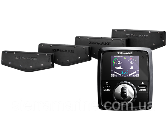 """Інтерцептор, """"Zipwake - Kit Box 450S"""" комплект 450 мм"""
