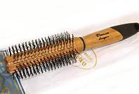 Расческа для волос круглая из дерева