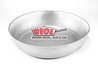 Противень алюминиевый 26см (форма для выпечки, сковорода без ручек) Пролис