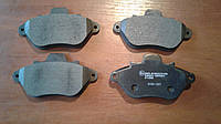 Передние тормозные колодки на Peugeot 605 (6B) 89-99  , фото 1