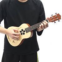 Zebra 23 дюймов 4 струнных концерта Rosewood Concert Ukulele Гавайи гитары