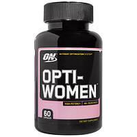 Opti-Women (Опти-Вумэн) 60 капс Натуральные Витамины для женщин Optimum Nutrition USA