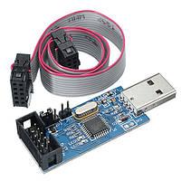 5pcs 3.3V / 5V USBASP USBISP AVR Programmer Downloader USB ISP ASP ATMEGA8 ATMEGA128 Поддержка Win7 64K Функция защиты от перегрузки по току с помощью