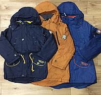 Куртки для мальчиков на флисе оптом Grace 116-146 см. №B70870
