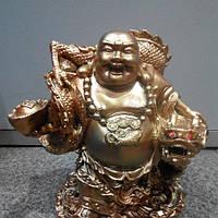 Хотей копилка 22 см сувенир фен-шуй, фото 1