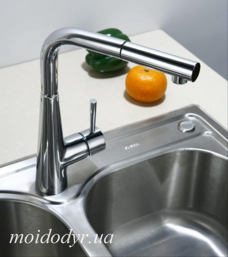 Смеситель Blue Water Miros - chrom для кухонной мойки