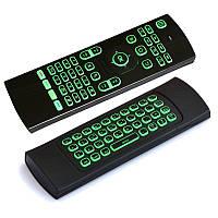 MX3 2.4GHZ Беспроводная 7 цветов с подсветкой Клавиатура Мышь IR Обучение Дистанционный Контроллер для Android TV Коробка ПК