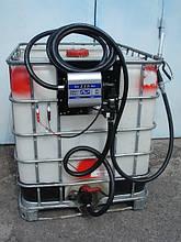 Мобільний заправний модуль з насосом для дизельного палива, 640 літрів, 12 вольт