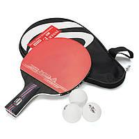 НастольныйтеннисRacketPingPongPaddle Короткаяручка Shake-Hand Indoor Настольный теннис