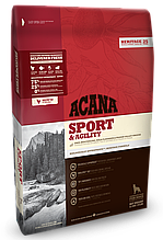 Корм Acana (Акана) Heritage Sport Agility для активных собак 11,4 кг