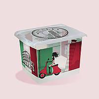 Коробка для хранения 20.5 литра Deco Italy Keeeper