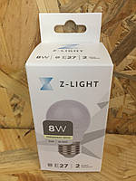 Светодиодная лампа Z-Light свеча LED C37 8W E27