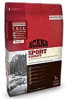Корм Acana (Акана) Heritage Sport Agility для активных собак, 17 кг