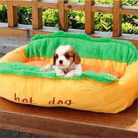 Hot Собака Washable Cotton Kennel Собака Nest Puppy Pet Bed House Теплый коврик для подушек