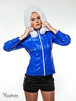 Кожаная куртка женская Fb.520 Imparator plonje marina koton beyaz M