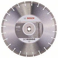 Диск алмазный Bosch Standart for Concrete 350-20/25,4