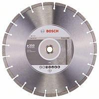 Диск алмазный Bosch Standart for Concrete 350-20/25,4