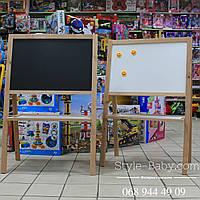 Мольберт доска для рисования мелом для детей