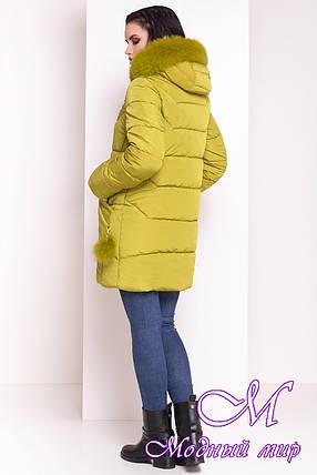 Красивый женский зимний пуховик (р. XS, S, M, L, XL) арт. Ари 4239 - 20583, фото 2
