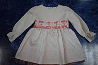 Нарядное детское платье для садика