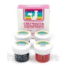 Chefmaster Набор кондитерских красок 4