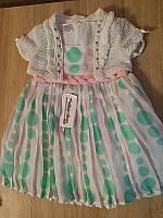 Нарядное платье для девочки Miss Pallone, р. 12 мес.