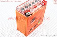 Аккумулятор 5Аh 12N5L-BS (гелевый, оранж) Active 120/60/130мм, 2016