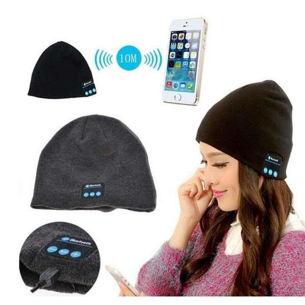 Уникальная Bluetooth-шапка со встроенными наушниками