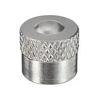 Универсальный хром-алюминий Авто Пылезащитный колпак для шин