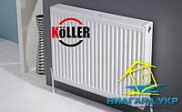 Стальной панельный радиатор с боковым подключением Koller тип 22 500 х