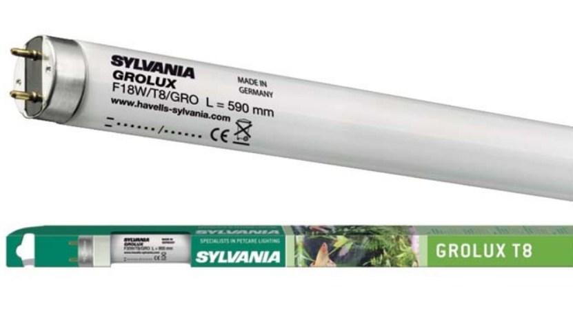 Лампа для аквариумов Sylvania F 18W/Grolux G13  - Интернет-магазин спецламп в Киеве