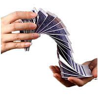 Волшебный Электрическая колода карт Prank Trick Prop Покерная акробатика Водопадная карта