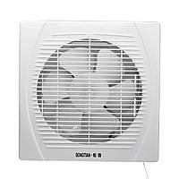8 дюймов 30W Вытяжной вентилятор Entilation Вентилятор Окна Стены Кухня Ванная комната Туалет