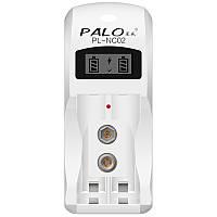 PaloC9022слотаNimhNicd Батарея Зарядное устройство для AA AAA 9V 6F22 Батарея с LCD Дисплей