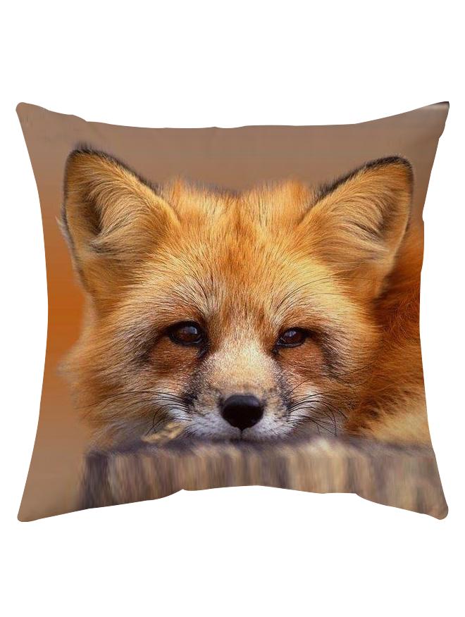 Подушка  2-х сторонняя Лиса