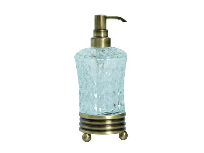 Дозатор для жидкого мыла KUGU Hestia antique Freestand 930A