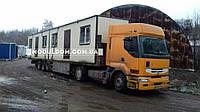 Модульные домики для базы отдыха г. Приморск 7,5х2,5м.