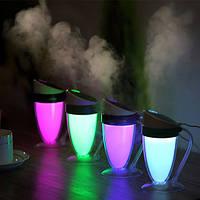 Loskii LH261 Люминесцентная увлажняющая увлажняющая капля Ультразвуковая проба Туман Увлажнитель Ультразвуковой увлажнитель воздуха