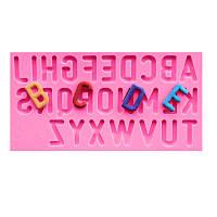 Пищевой сорт Силиконовый Торт пресс DIY Chocalate Cookies Ice Tray Baking Инструмент Буквы с алфавитом