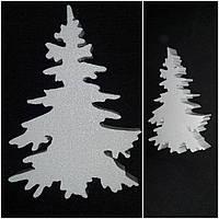 Милая елка из структурированного пенопласта для творчества, толщ.2 см, выс.17 см., 25/20 (цена за 1 шт + 5 гр)