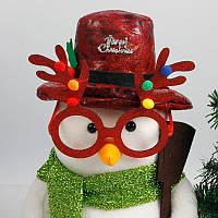 Рождественский олень Очки Antlers Уши Очки Новогодние аксессуары для вечеринок Deer Очки Украшение