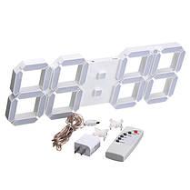 Большая современная цифровая светодиодная скелетная стена Часы 1TopShop, фото 2