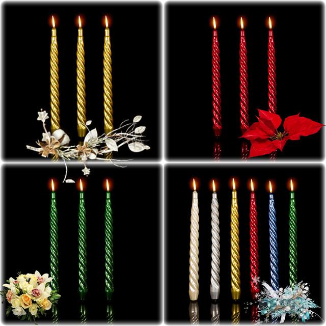 О декоративных свечах в нашем магазине