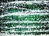 Новогодняя мишура (2,7 м ) зелёная с белым