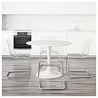Стол + 4 стула IKEA DOCKSTA/ TOBIAS
