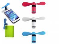 Micro USB вентилятор для телефона