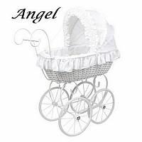 Коляска для кукол плетеная из лозы leiteng artwares Angel детская ретро коляска