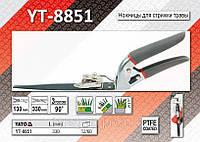 Ножницы газонные поворотные на 90°,  l= 330 x 130 мм., YATO YT-8851