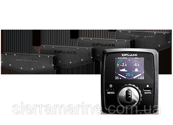 """Інтерцептор, """"Zipwake - Kit Box 600S"""" комплект 600 мм"""