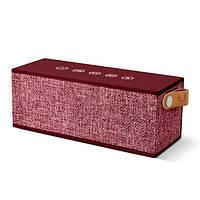 Колонка беспроводная Fresh N Rebel Rockbox Brick Fabriq Edition Bluetooth Speaker Ruby (1RB3000RU)